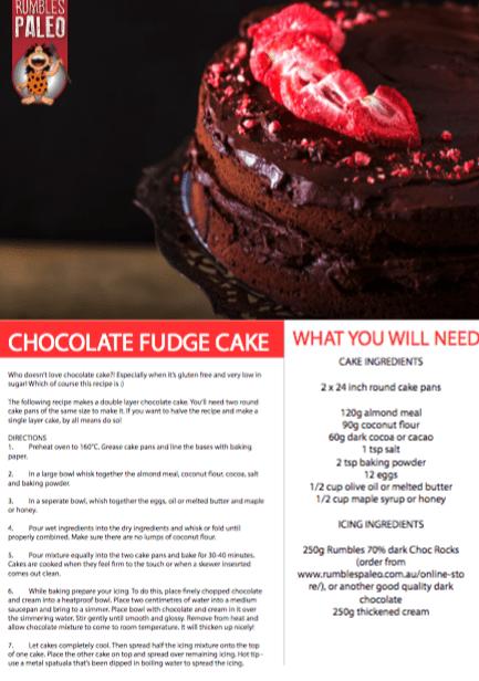 paleo chocolate cake recipe rumbles paleo