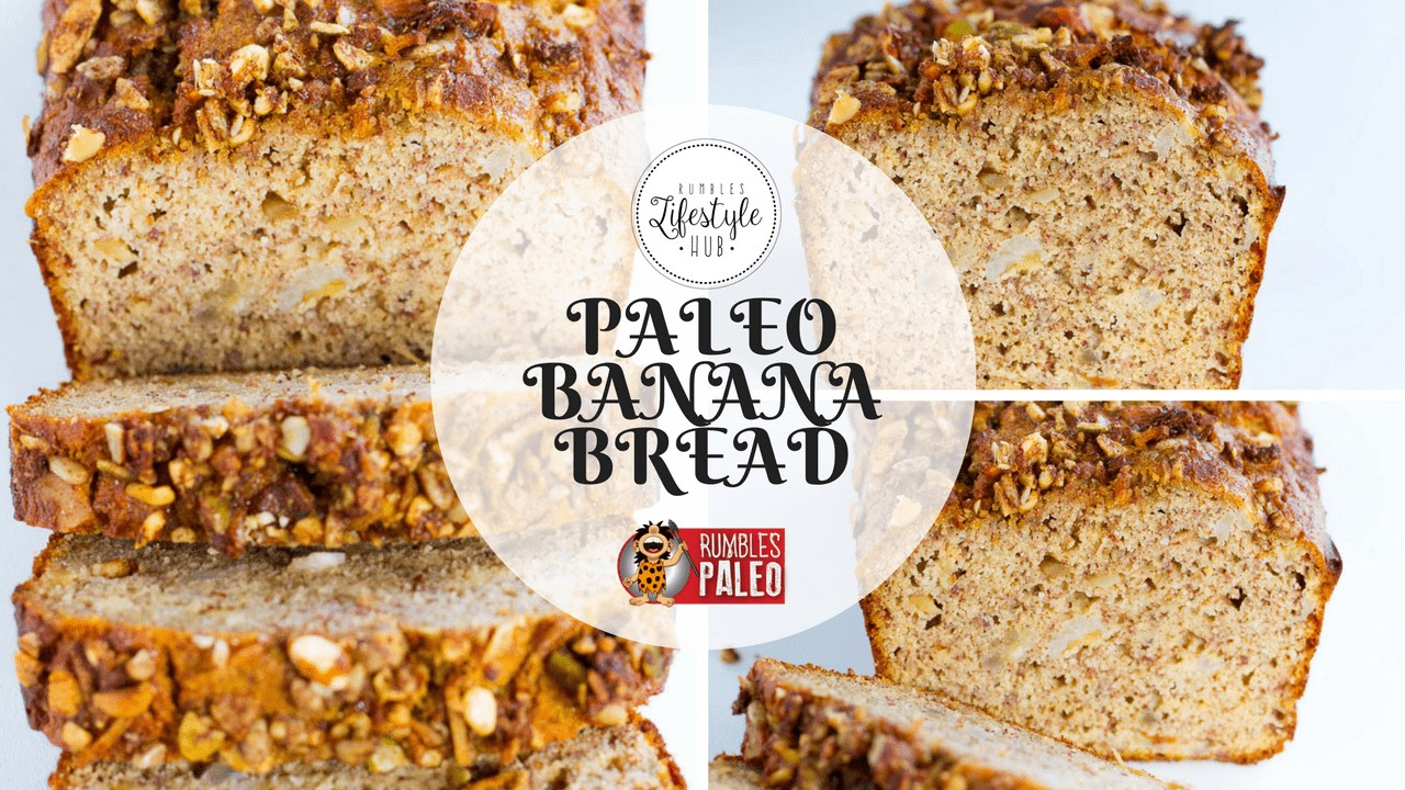 paleo recipes banana bread cake rumbles paleo healthy