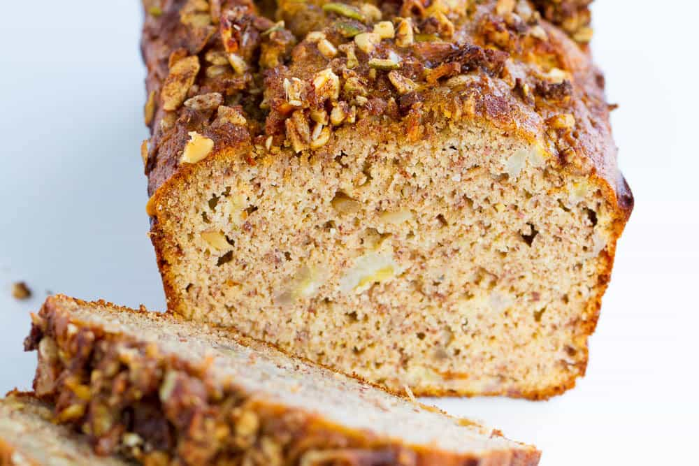 paleo banana bread cake recipe rumbles paleo healthy recipe