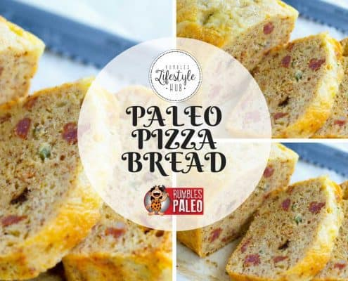paleo bread pizza bread