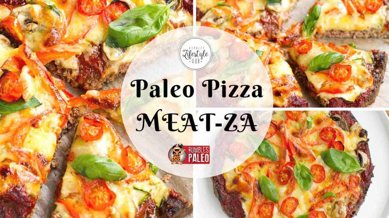 paleo pizza meatza