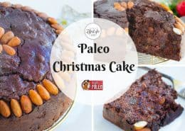 paleo christmas cake