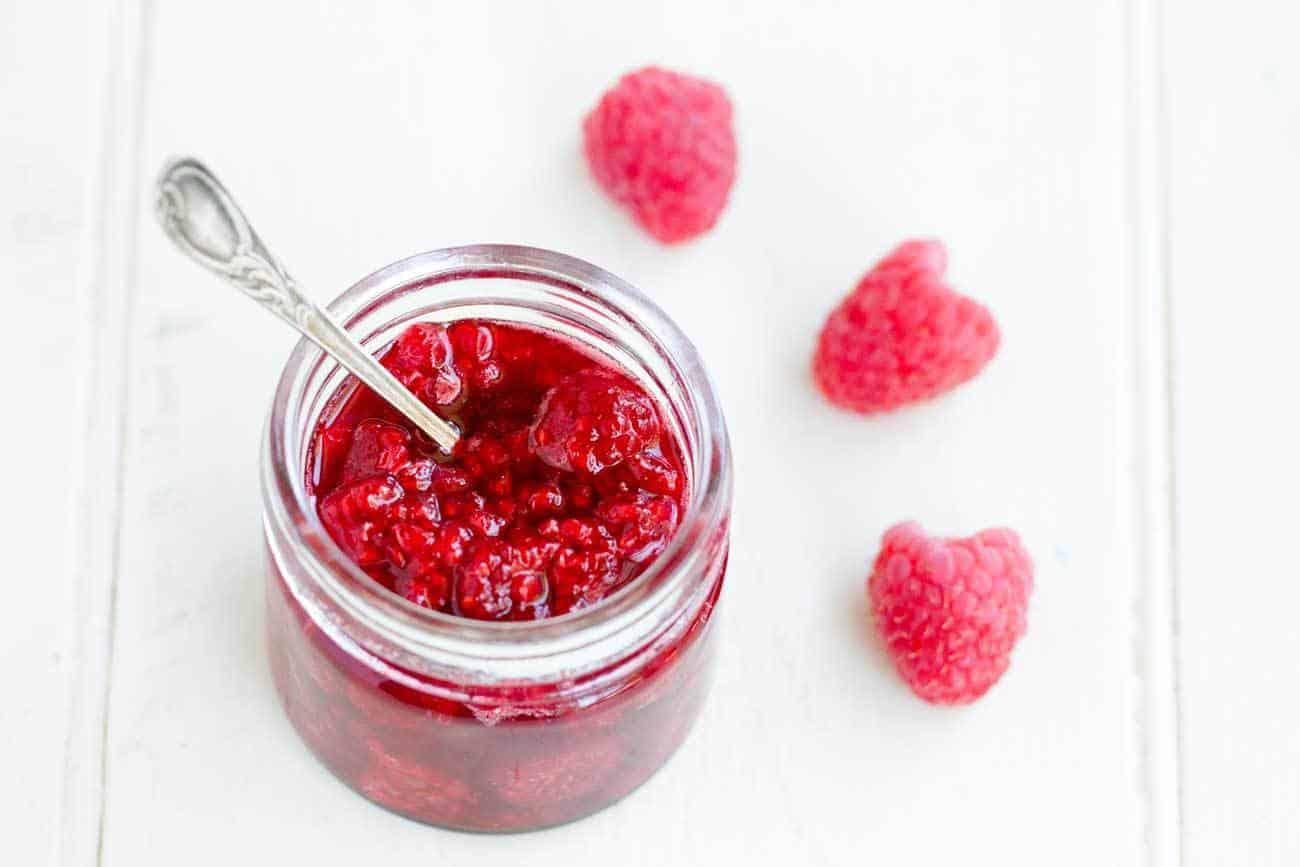 raspberry sugar free jam recipe paleo muffin recipe