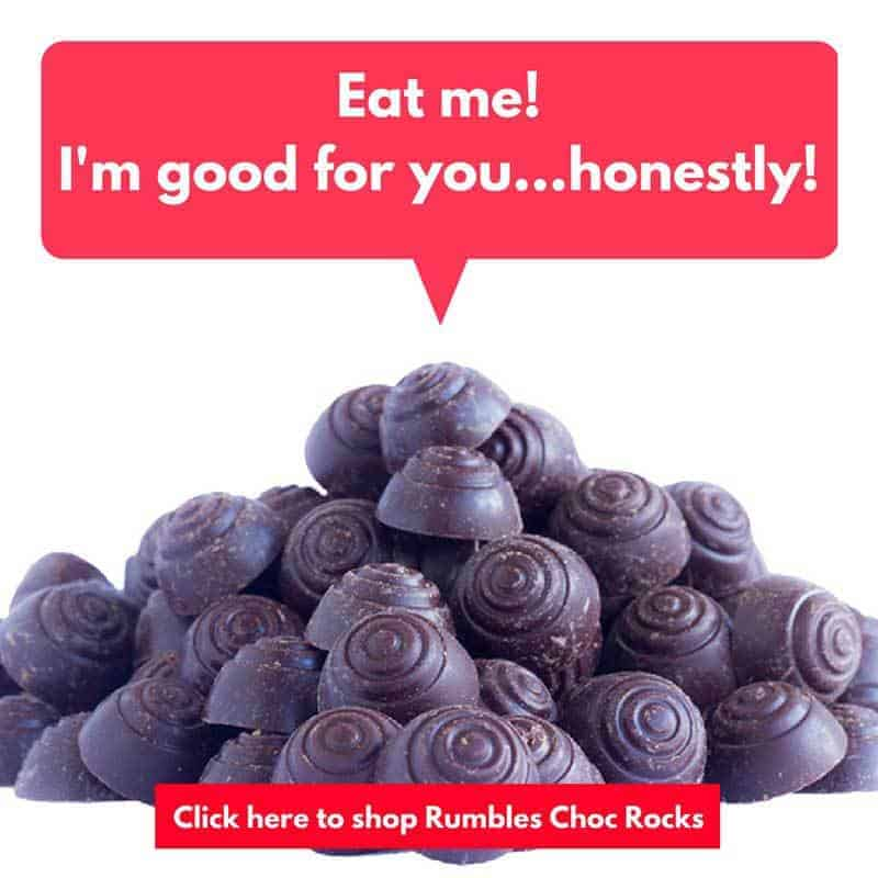 healthy chocolate rumbles paleo